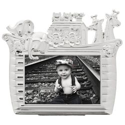 Classic Noah's Ark Baby Photo Frame