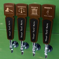 Legally Brewed Custom Beer Tap Handle for Lawyers