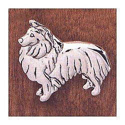 Handcrafted Shetland Sheepdog Pin