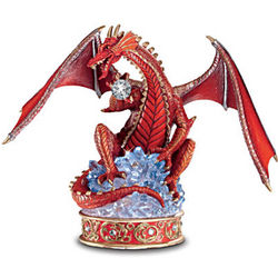 Youngblood The Guardian Red Dragon Figurine