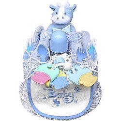 1 Tier Boy's Diaper Cake