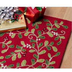 Holly Berry Rug