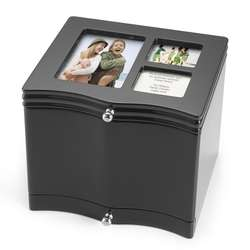 Black Photo Storage Box
