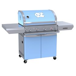 North Carolina Tarheels Team Grill Patio Series MVP Gas Grill