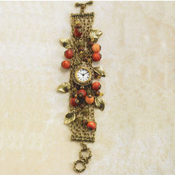 Autumn Beads Bracelet Watch