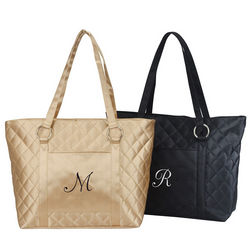 Quilted Stylish Lady's Tote Bag