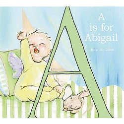 Personalized Alphabet Letter Baby Plaque