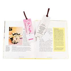 Flowerpot Seeded Bookmark