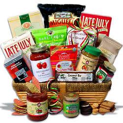 Premium Organic Gift Basket