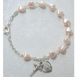 Deluxe Youth Pink Heart Bracelet