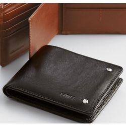 Black Leather Excursion Wallet