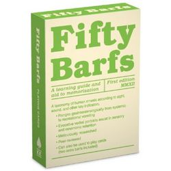 Fifty Barfs Deck of Playing Cards