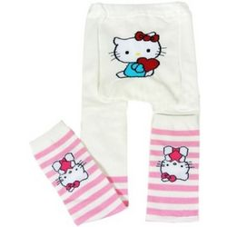 White Sweetheart Hello Kitty Leggings