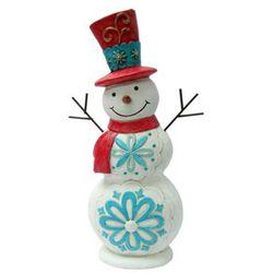 Brighten the Season Snowman Figurine