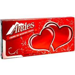 Andes Creme De Menthe Thins Valentine Box