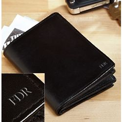 Down to Business Personalized Bifold Wallet
