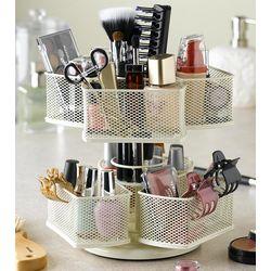 Spinning Makeup Organizer Carousel
