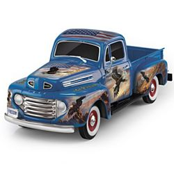 American Spirit Ford F1 Truck Sculpture