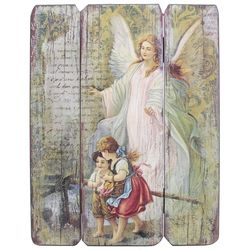 Guardian Angel Light and Guide Wall Plaque