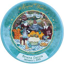 Personalized Magical Wishes Birthday Plate
