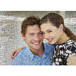 20x30 Canvas Photo Mosaic
