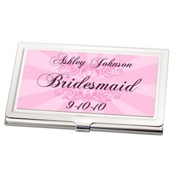 Bridesmaid Business Card Holder