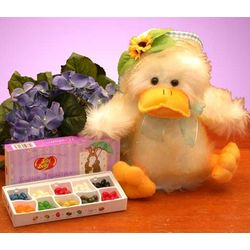Singing Easter Duckling Gift Set