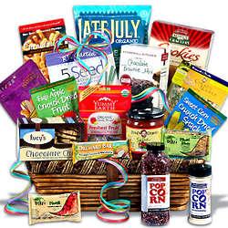 Premium Gluten Free Snack Basket
