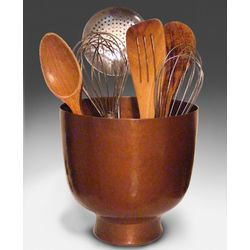 Copper Chef's Utensil Jar