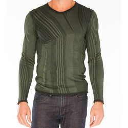 Armani Green Rayon Sweater