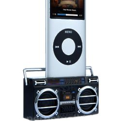 Boom Box iPod Dock and Speaker