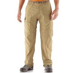 Men's Sahara Convertible Pants with No-Sit Zips