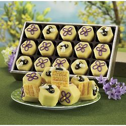 Bee and Flower Tea Cakes