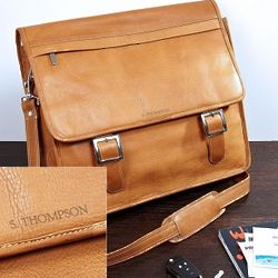 Brawley Leather Laptop Bag
