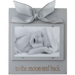 To the Moon and Back Heather Picture Frame