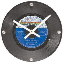 Motown Label Wall Clock