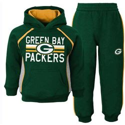 Toddlers Green Bay Packers Fleece Set