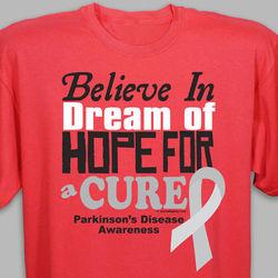 Cure Parkinson's Disease Awareness T-Shirt