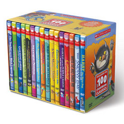 Treasury of 100 Storybook Classics DVDs
