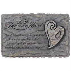 Reunion Heart Horizontal Stepping Stone