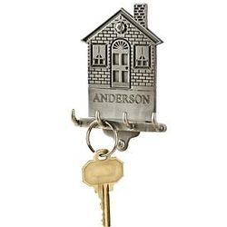 Pewter House Key Holder