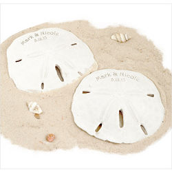 Personalized Sand Dollar Party Favor