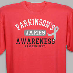 Parkinson's Awareness Athletic Dept. T-Shirt