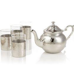 Kashmir Hammered Teapot Set