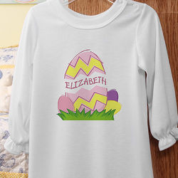 Egg-straordinary Girl's Easter Nightgown