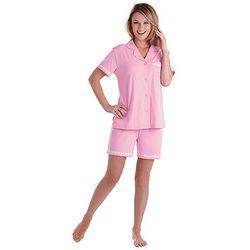 Oh-So-Soft Pin Dot Pajama Short Set