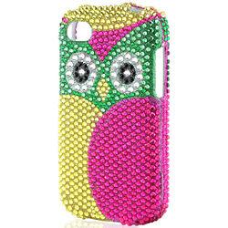 Owl Bling Blackberry Q10 Phone Case