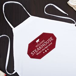 Steakhouse Personalized Apron