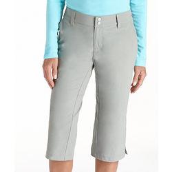 Women's Travel Crop Pants with UPF 50+