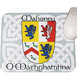 Personalized Coat of Arms Mouse Pad
